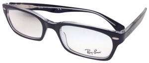 Ray-Ban RAY-BAN Eyeglasses HIGHSTREET RB 5150 2034 50-19 Black On Clear Frame