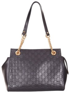 92ee31fc2e9d Added to Shopping Bag. Gucci Shoulder Bag. Gucci Linea Gg Signature Soft ...