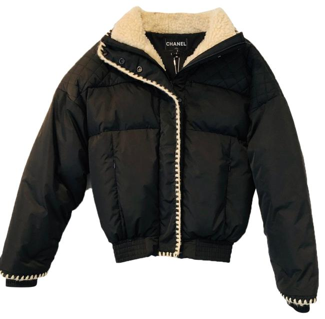 Preload https://img-static.tradesy.com/item/25297559/chanel-black-2018-coco-neige-quilted-puffer-blouson-jacket-coat-size-8-m-0-4-650-650.jpg