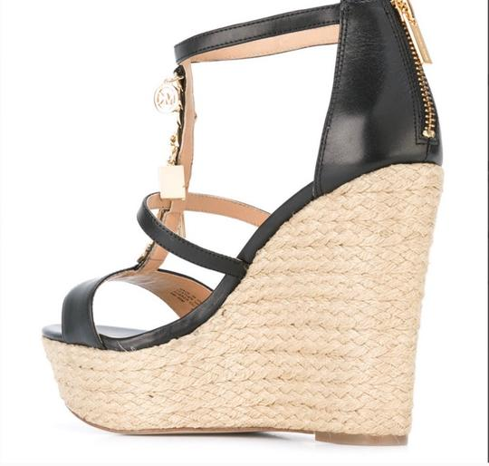 MICHAEL Michael Kors Black Wedges Image 1