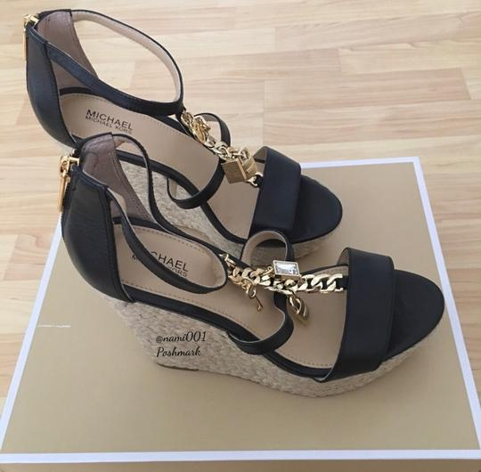 MICHAEL Michael Kors Black Wedges Image 4