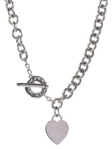 Tiffany & Co. Toggle Heart Necklace