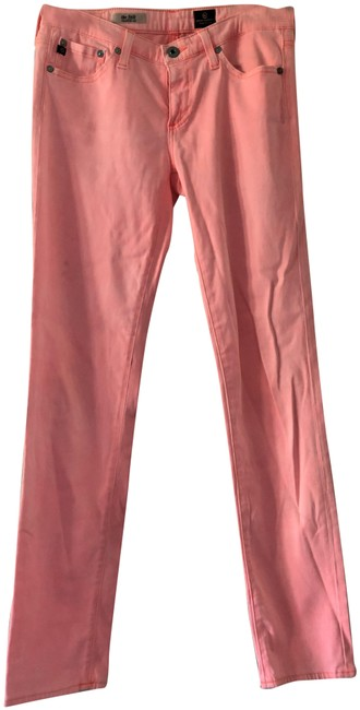 "Item - Peach Hot ""The Stilt"" Cigarette Leg Pants Size 4 (S, 27)"
