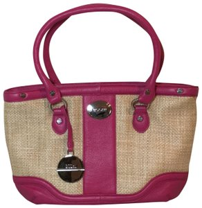 Bodhi Tote in Pink and natural