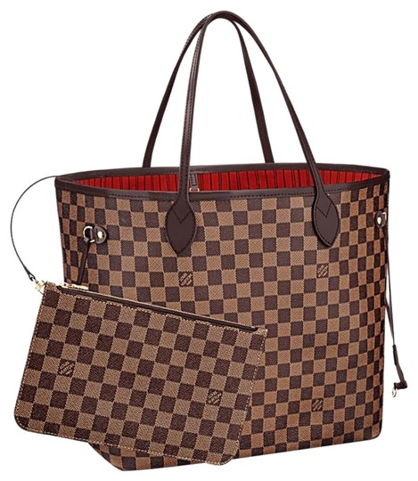 Preload https://img-static.tradesy.com/item/25298207/louis-vuitton-neverfull-new-mm-damier-with-red-lining-brown-leather-tote-0-2-540-540.jpg