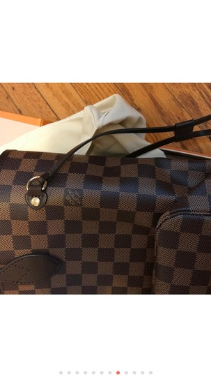 Louis Vuitton Monogram Leather Luxury European Limited Edition Tote in brown Image 10