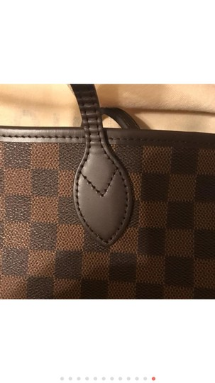 Louis Vuitton Monogram Leather Luxury European Limited Edition Tote in brown Image 11