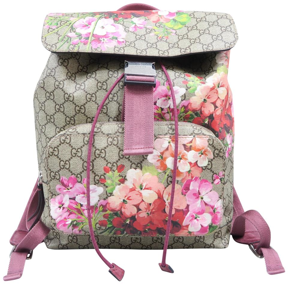 8a03f8633aeeaf Gucci Gg Blooms Multicolor Canvas Backpack - Tradesy
