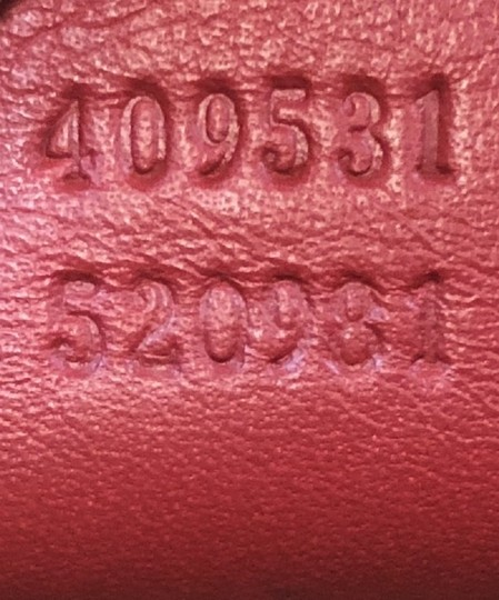 Gucci Canvas Tote in red Image 7