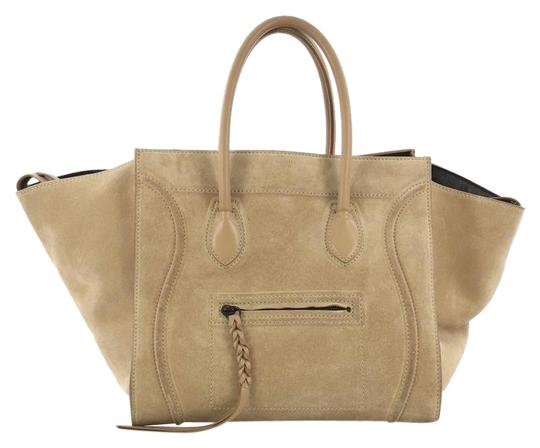 Preload https://img-static.tradesy.com/item/25299571/celine-cabas-phantom-medium-beige-suede-tote-0-1-540-540.jpg