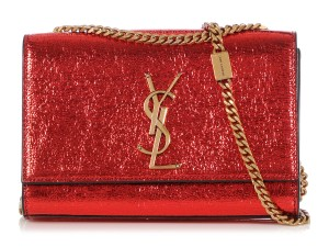 Saint Laurent Ys.q0401.06 Ysl Woc Crackle Cross Body Bag