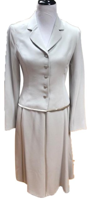 Item - Light Lime With Silk Trim and Matching Tank Skirt Suit Size 4 (S)