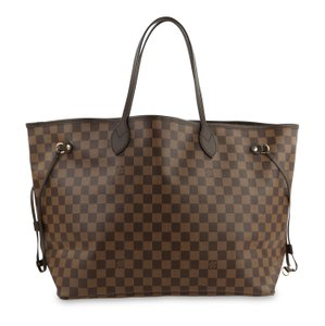 Louis Vuitton Hobos Shoulder Bags Lv Damier Handbags Tote in Brown