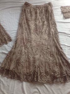 Soulmates Cocoa Silk Polyester D1104 Formal Bridesmaid/Mob Dress Size 16 (XL, Plus 0x)