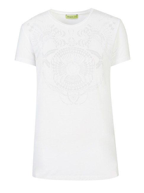Versace Jeans Collection T Shirt White Image 2