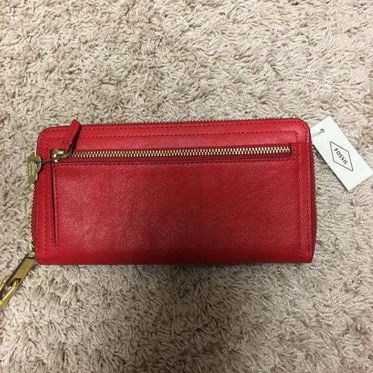 Fossil Fossil Leather wallet Wristlet Image 4