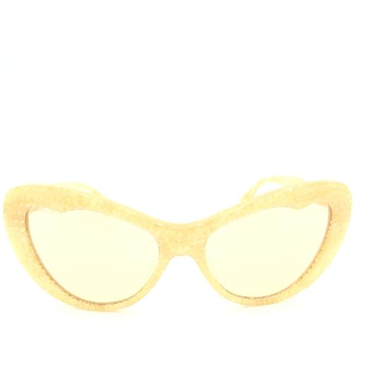 Miu Miu Miu Miu Cat Eye Translucent Tan Kaleidoscope SMU 04O Sunglasses Image 1
