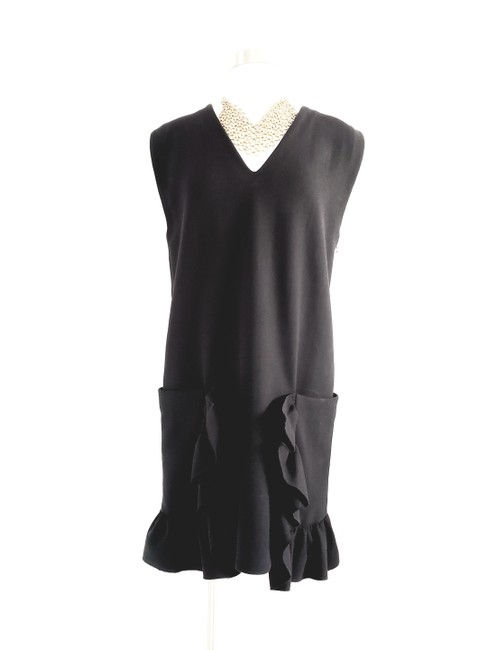 Marni short dress Black Evening Sleeveless Shift Wool on Tradesy Image 0