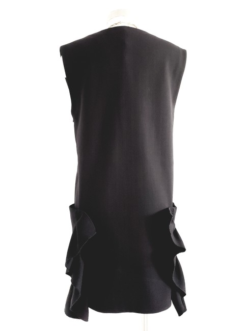 Marni short dress Black Evening Sleeveless Shift Wool on Tradesy Image 2