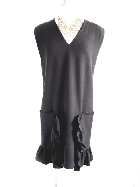 Marni short dress Black Evening Sleeveless Shift Wool on Tradesy Image 3