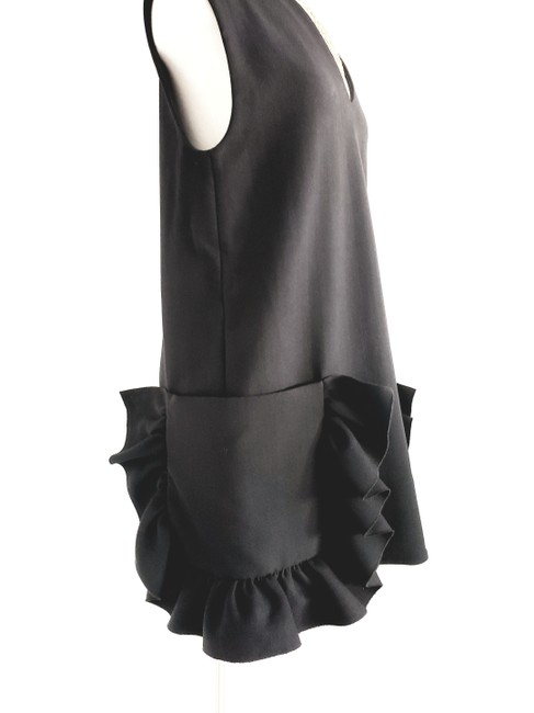 Marni short dress Black Evening Sleeveless Shift Wool on Tradesy Image 4