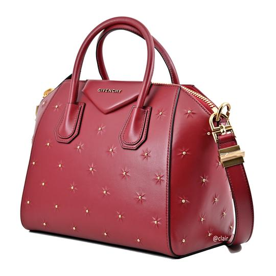 Givenchy Satchel in Dark Red Image 1