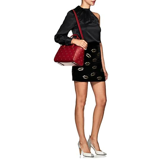 Givenchy Satchel in Dark Red Image 11