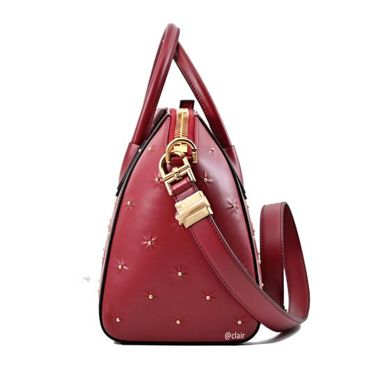Givenchy Satchel in Dark Red Image 2