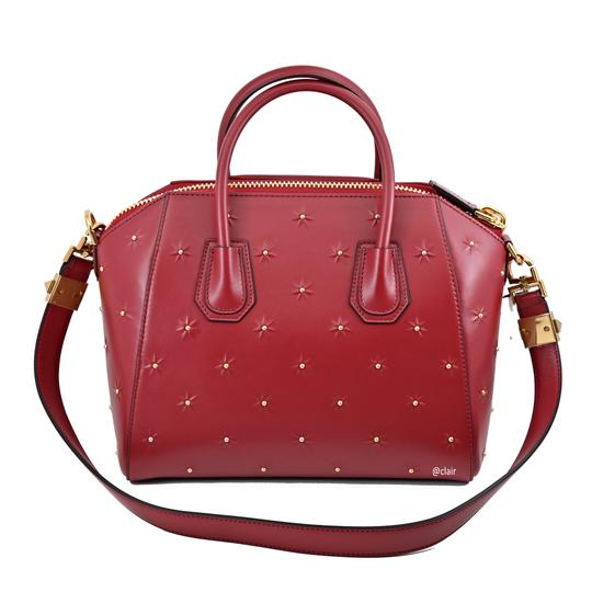 Givenchy Satchel in Dark Red Image 3