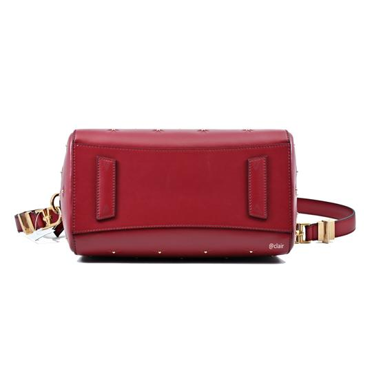 Givenchy Satchel in Dark Red Image 4