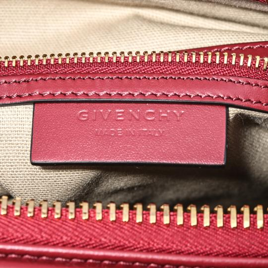 Givenchy Satchel in Dark Red Image 8