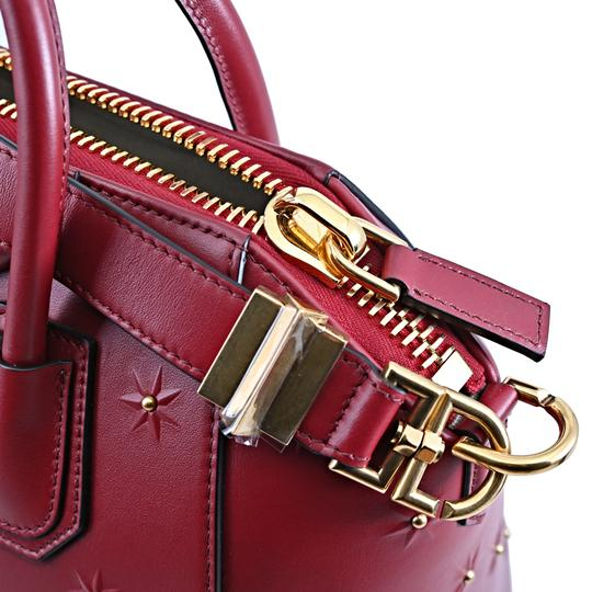 Givenchy Satchel in Dark Red Image 9