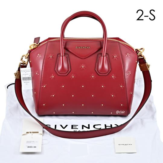 Givenchy Satchel in Dark Red Image 5