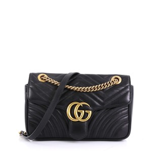 Gucci Leather Small Shoulder Bag