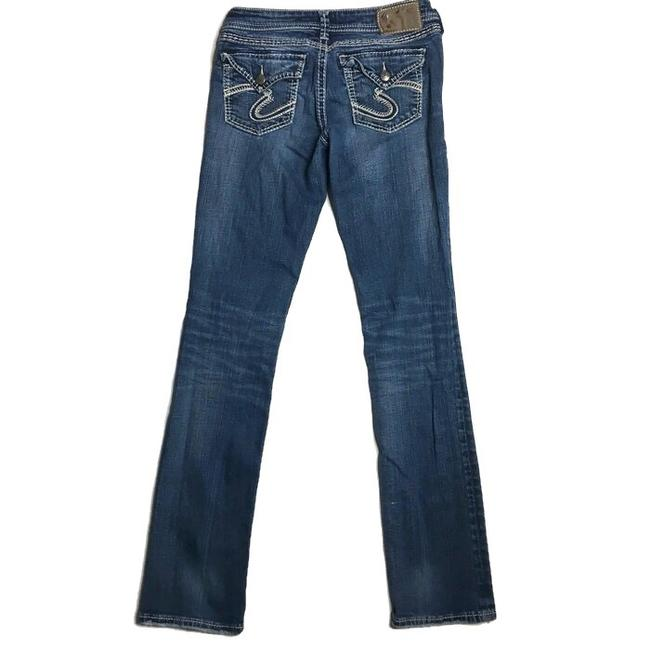 Silver Jeans Co. Skinny Jeans-Medium Wash Image 7