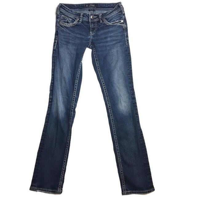 Silver Jeans Co. Skinny Jeans-Medium Wash Image 8