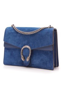 3bc5ecf39 Gucci Shoulder Bag · Gucci. Dionysus Medium - Blue Suede Leather Shoulder  Bag