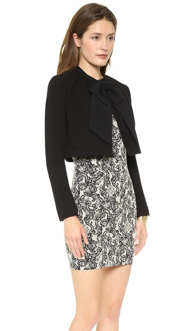 Alice + Olivia Tory Burch Dvf Elizabeth And James Iro Tibi Black Jacket Image 1