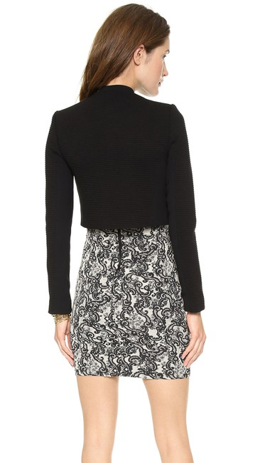 Alice + Olivia Tory Burch Dvf Elizabeth And James Iro Tibi Black Jacket Image 2
