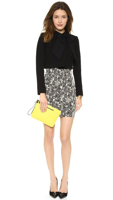 Alice + Olivia Tory Burch Dvf Elizabeth And James Iro Tibi Black Jacket Image 3