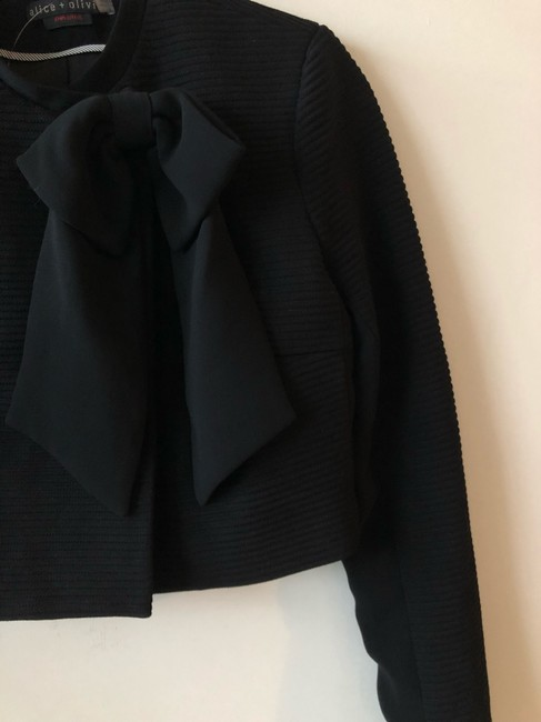 Alice + Olivia Tory Burch Dvf Elizabeth And James Iro Tibi Black Jacket Image 7