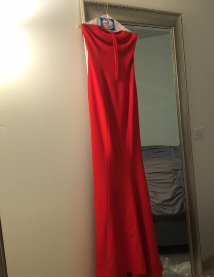 LIKELY Red Viseroy Gown Formal Bridesmaid/Mob Dress Size 2 (XS) Image 2