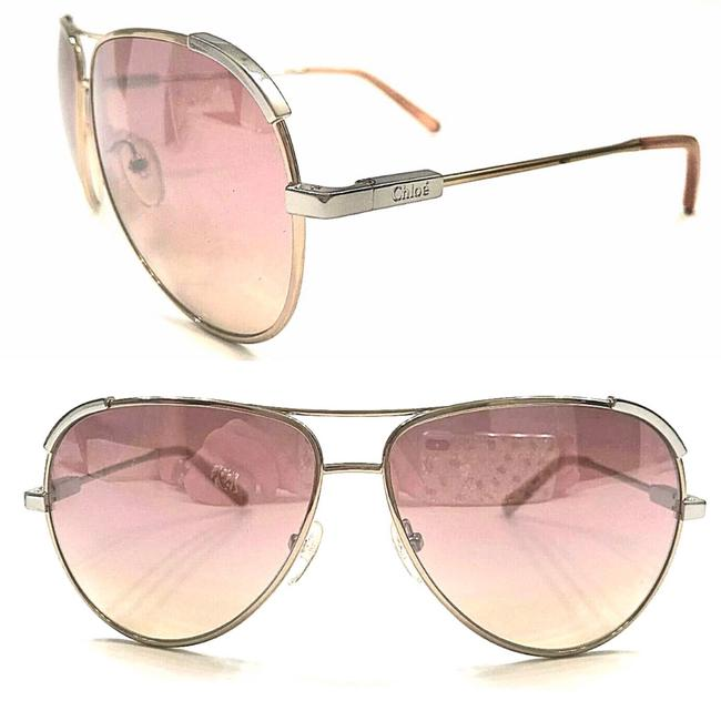 Item - Gold Rose Mirror Aviator Ce0118 709 Sunglasses