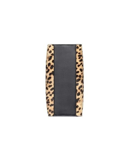 Gucci Leopard Print Handbag Leather Web Stripe Strap Shoulder Bag Image 2