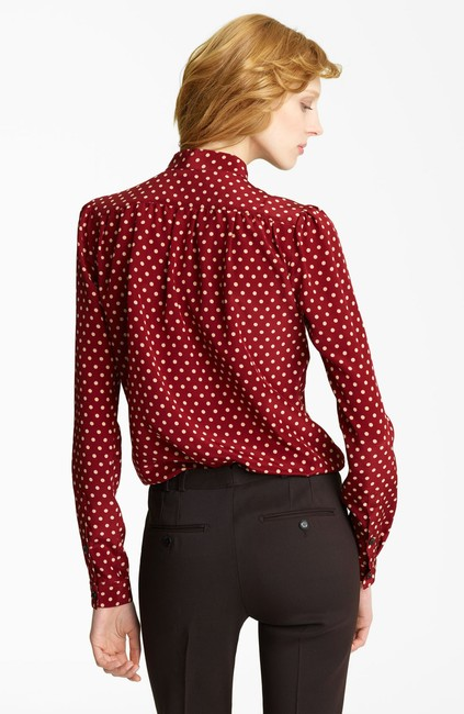 Burberry Prorsum Victoria Beckham The Row Isabel Marant Ellery Stella Mccartney Top Red Image 1