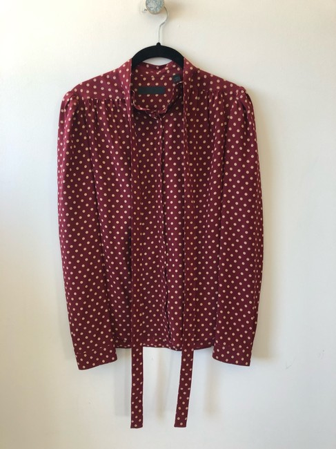 Burberry Prorsum Victoria Beckham The Row Isabel Marant Ellery Stella Mccartney Top Red Image 3
