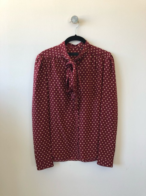 Burberry Prorsum Victoria Beckham The Row Isabel Marant Ellery Stella Mccartney Top Red Image 4