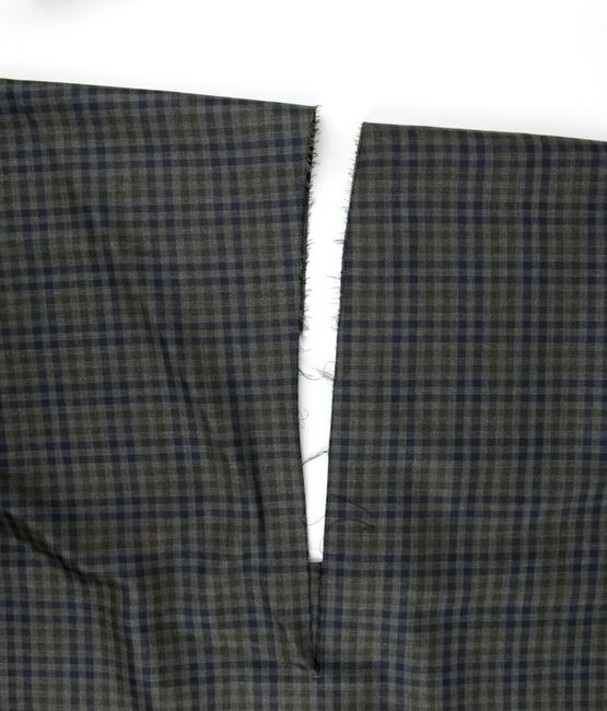 Balenciaga Women's Checkered Asymmetrical Skirt Grey Image 10