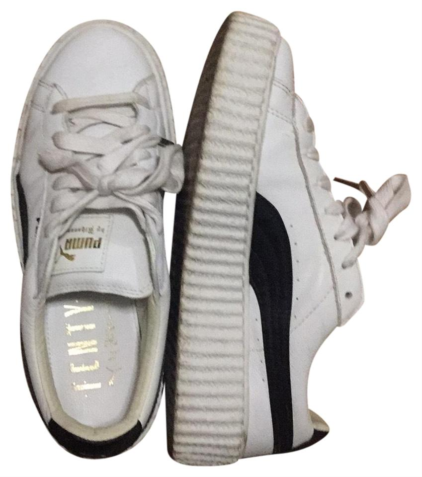 buy online 4b3b1 4e7f6 White Leather Sneakers