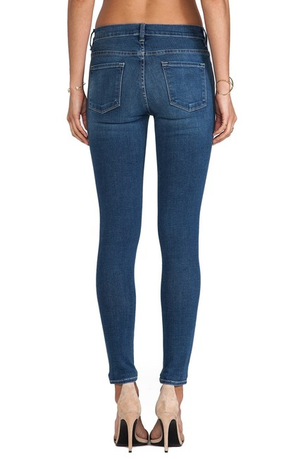 FRAME Skinny Jeans-Medium Wash Image 2